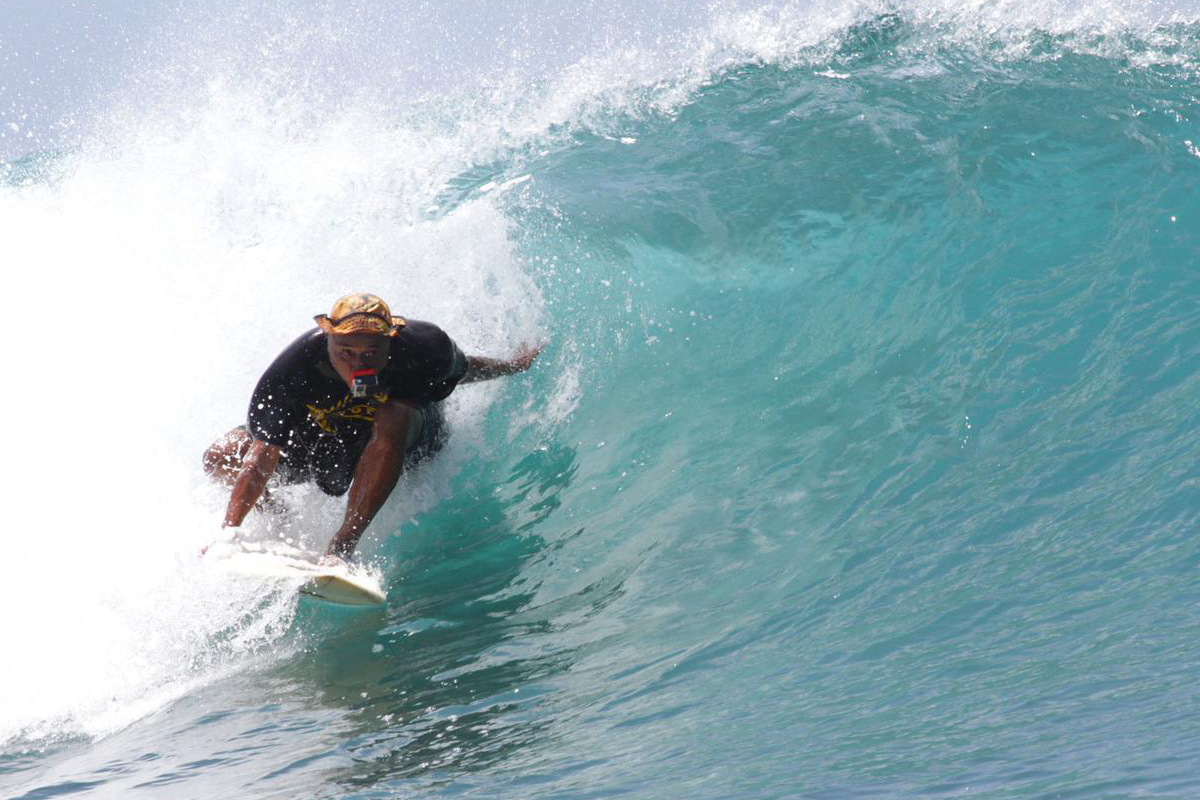 Michael Eu Still Catching The Waves At 73